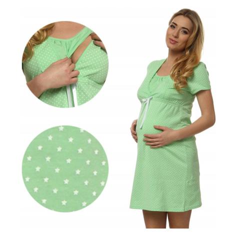 Mateřská noční košilka Italian Fashion Felicita Světle zelená