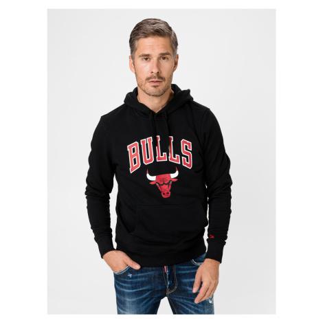 NBA Logo Chicago Bulls Mikina New Era Černá