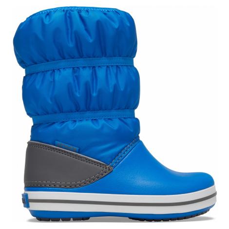 Crocs Crocband Winter Boot K Bright Cobalt/Light Grey J2