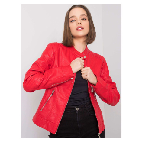 Red biker jacket Fashionhunters