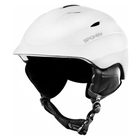 Spokey COLUMBIA lyžařská přilba bílá, vel. S-XL