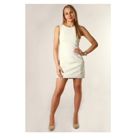 Dámské koženkové šaty