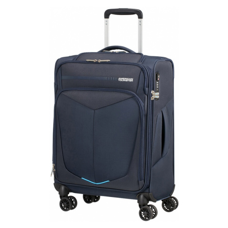 AT Kufr Summerfunk Spinner 55/20 Cabin USB Navy, 40 x 20 x 55 (124888/1596) American Tourister