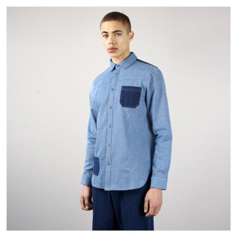Modrá džínová košile s výraznými kapsami – Bering Native Youth