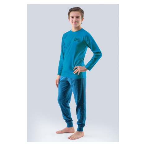 Chlapecké pyžamo Atlantic petrolejové Gina