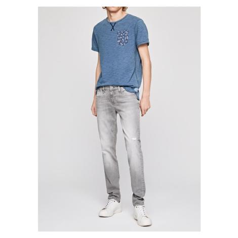 Pepe Jeans Pepe Jeans pánské šedé džíny HATCH