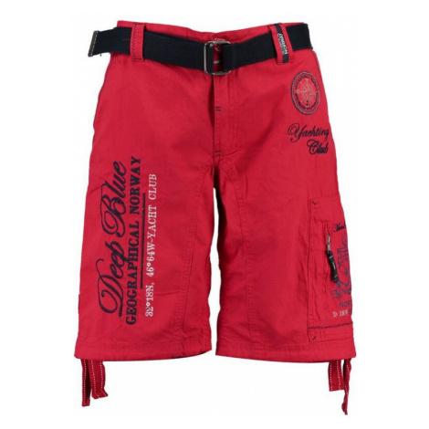 GEOGRAPHICAL NORWAY kalhoty pánské PALLANCRE bermudy + pásek