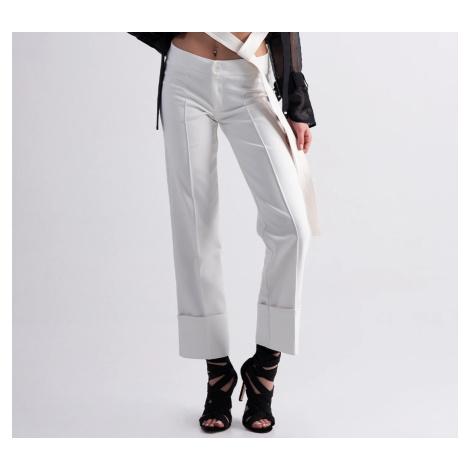 #VDR Ecru Elegant kalhoty