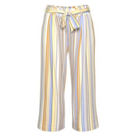 VENICE BEACH Kalhoty se sklady v pase žlutá / modrá / béžová / mix barev