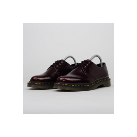Dr. Martens Vegan 1461 cherry red oxford rub off Dr Martens