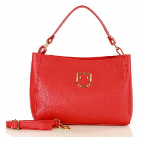 Přírodní kožená taška model 141033 Mazzini UNI