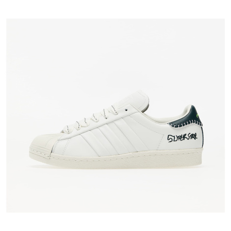 adidas x Jonah Hill Superstar Core White/ Green Night F17/ Off White