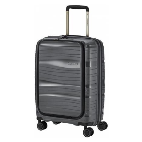 Travelite Kabinový cestovní kufr Motion S Front pocket Anthracite 43 l