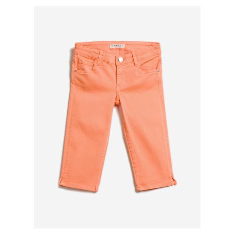 Scented Kalhoty dětské Guess Oranžová