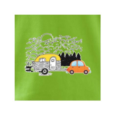 S obytňákem v lese - Viper FIT pánské triko