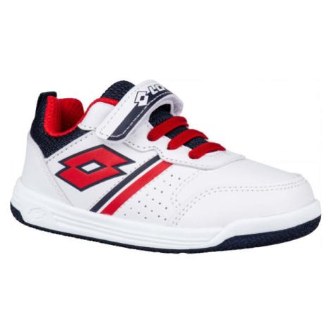 Lotto SET ACE AMF XIVI INF SL bílá - Dětské volnočasové boty