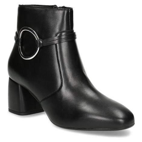Kožená dámská kotníčková obuv Baťa