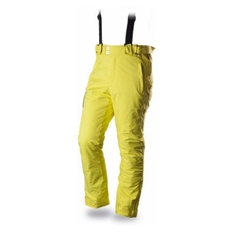 Pánské lyžařské kalhoty TRIMM Narrow lemon