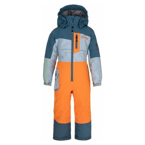 Dětská zimní kombinéza KILPI PONTINO-JB oranžová
