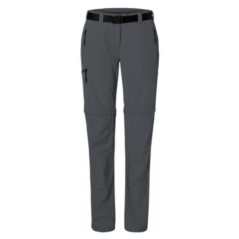 James & Nicholson Pánské outdoorové kalhoty s odepínacími nohavicemi JN1202