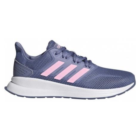 adidas FALCON K fialová - Dětská běžecká obuv