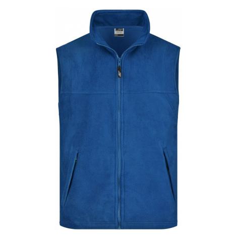 James & Nicholson Pánská fleecová vesta JN045