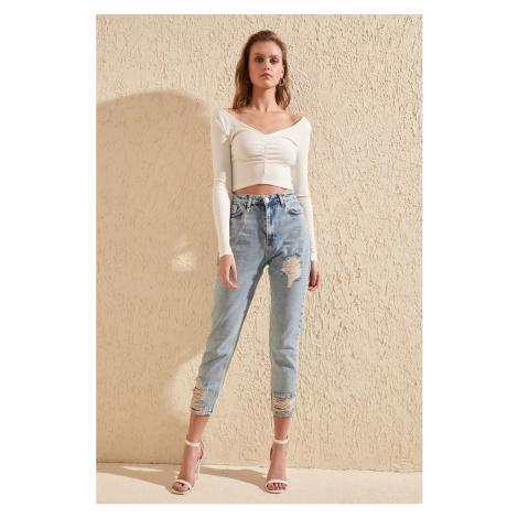 Dámské džíny Trendyol High Waist Mom