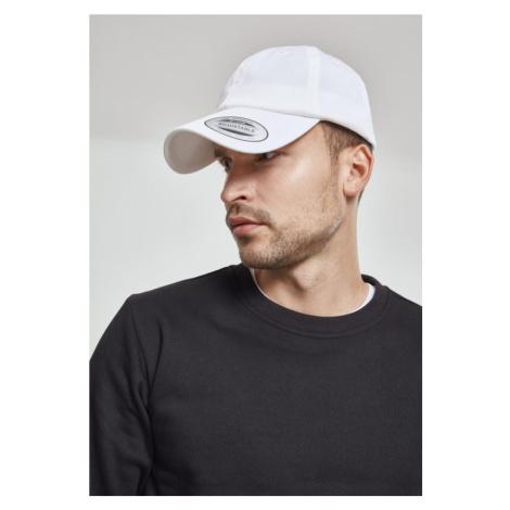 Low Profile Organic Cotton Cap - white Urban Classics