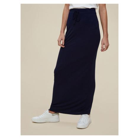 Dorothy Perkins modré dlouhá sukně