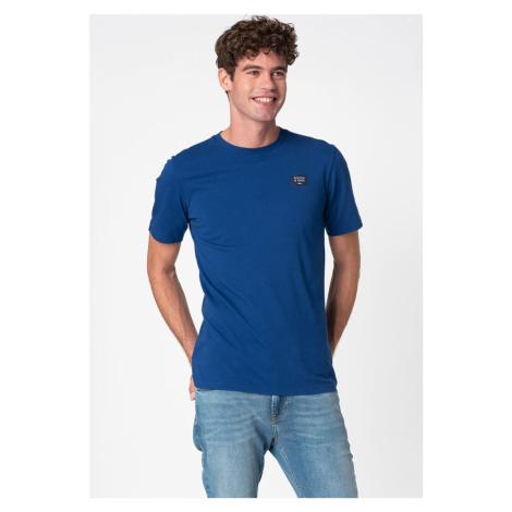 Scotch & Soda SCOTCH & SODA pánské modré tričko
