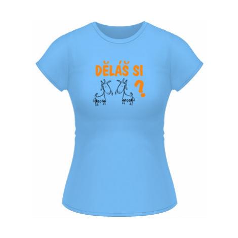 Dámské tričko Classic Děláš si kozy