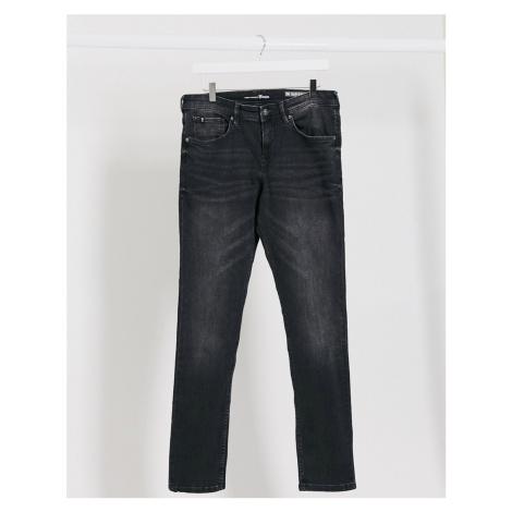 Tom Tailor skinny stretch jeans in black