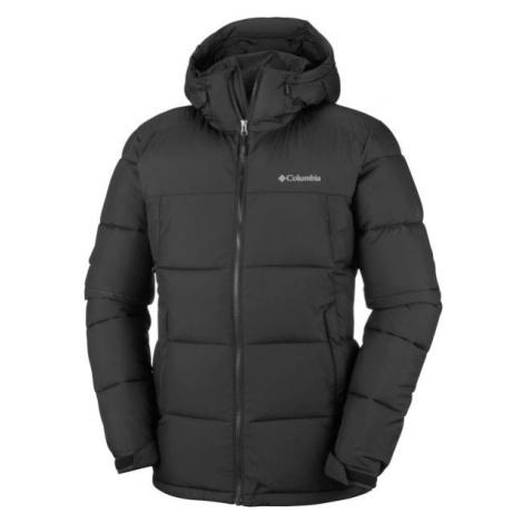 Columbia PIKE LAKE HOODED JACKET černá - Pánská zimní bunda