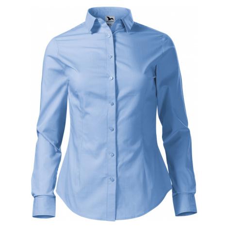 Malfini STYLE LS Dámská košile 22915 nebesky modrá