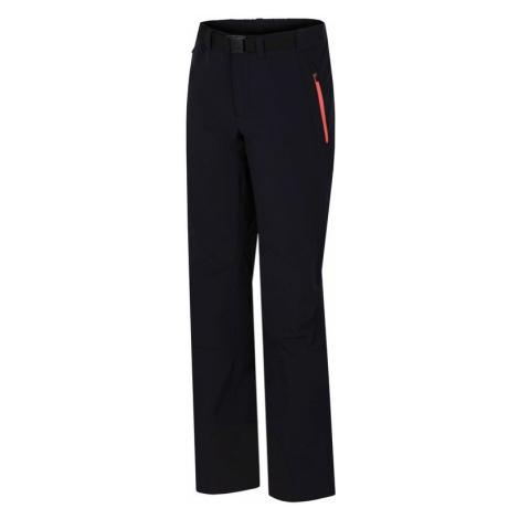 Dámské kalhoty Hannah Garwynet anthracite (pink)