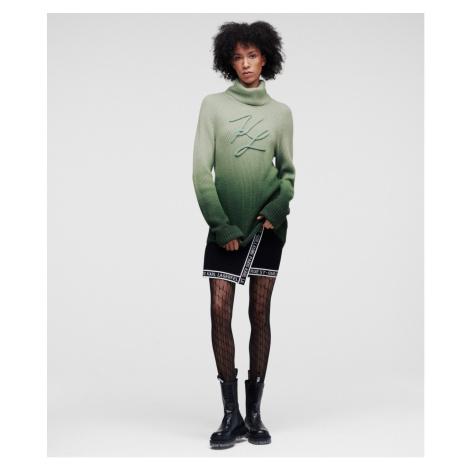 Svetr Karl Lagerfeld Kl Soutache Sweater - Zelená