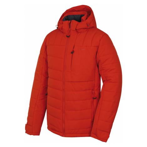 Husky Norel M, cihlová Pánská plněná zimní bunda