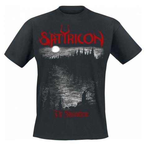 Satyricon Shadowthrone Tričko černá