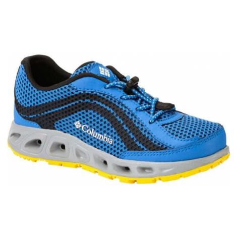 Columbia YOUTH DRAINMAKER IV modrá - Dětské outdoorové boty