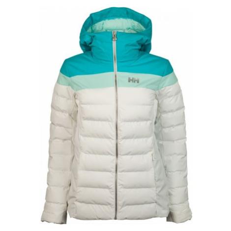 Helly Hansen IMPERIAL PUFFY JACKET W bílá - Dámská lyžařská bunda