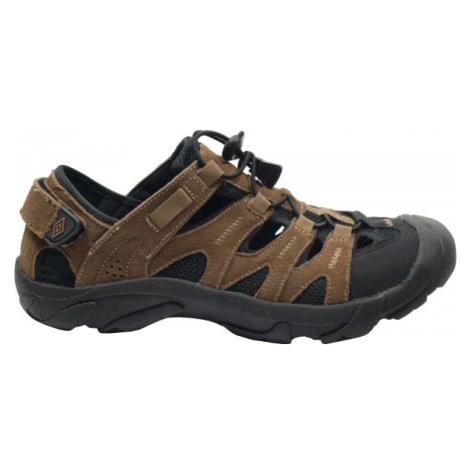 Umbro VEMUND hnědá - Pánské sandály
