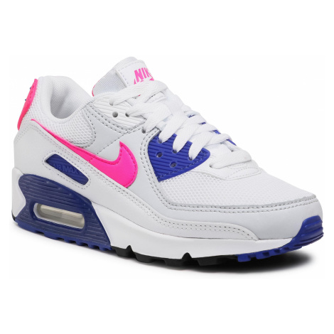 Boty NIKE - Air Max 90 DC9209 100 White/Hyper Pink/Concord