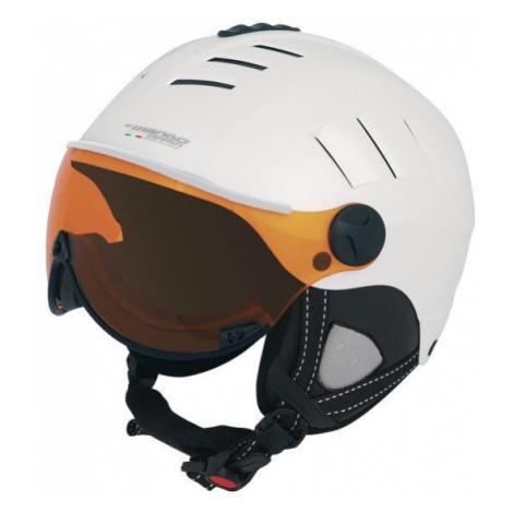 Mango VOLCANO PRO bílá - Lyžařská helma