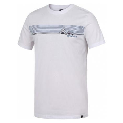 Pánské tričko Hannah Jalton bright white (2)