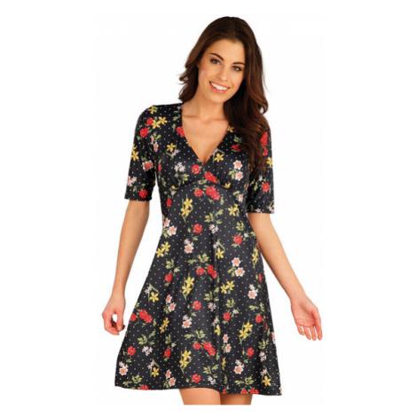 Dámské šaty s krátkým rukávem Litex 5A055 | tisk