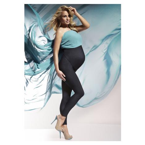 Těhotenské legíny Nadia - Bas Bleu Indigo