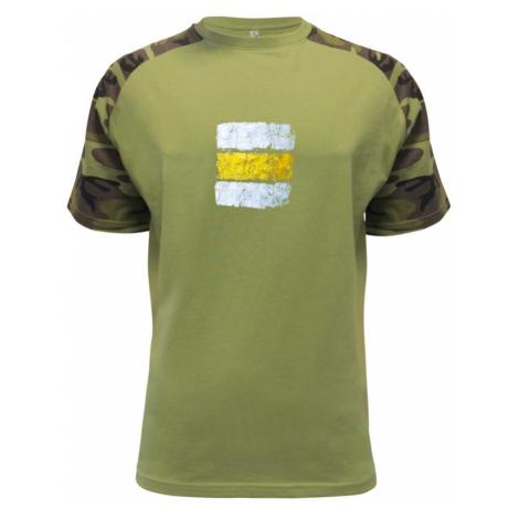 Turistická značka - žlutá - Raglan Military