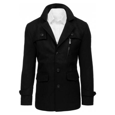 Pánský černý kabát cx0410 BASIC