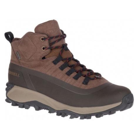 Merrell THERMO SNOWDRIFT MID SHELL WP hnědá - Pánské zimní boty