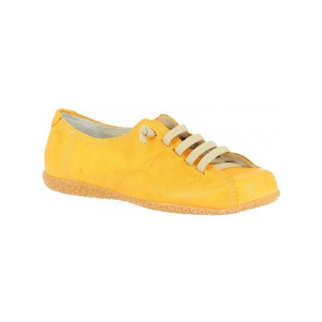 Leonardo Shoes 1269PINTA GIALLO Žlutá